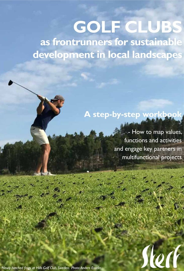 Golf clubs as frontrunners for sustainable development in